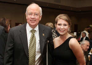 Judge Ken Starr and me - Taken by Matt Hellman - Photo Editor for Lariat