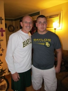 Byron Johnson and his mentee Blake
